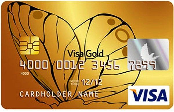 Visa Gold.