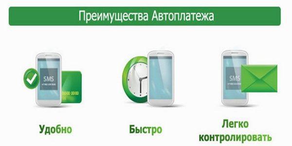 Автоматические платежи с банковской карты