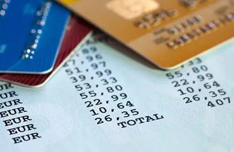 Распечатанный чек содержит сведения о дате и сумме списаний.