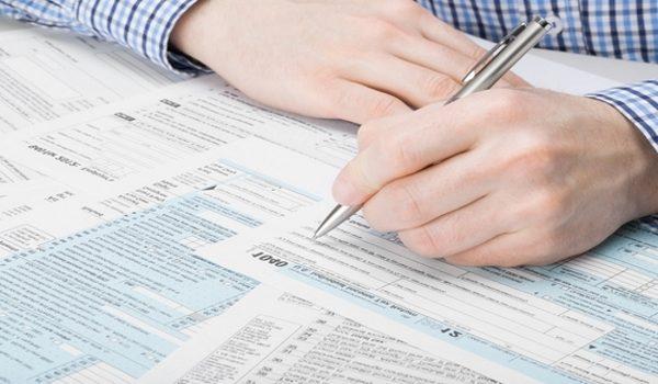 Заполнение договора о полном досрочном погашении кредита