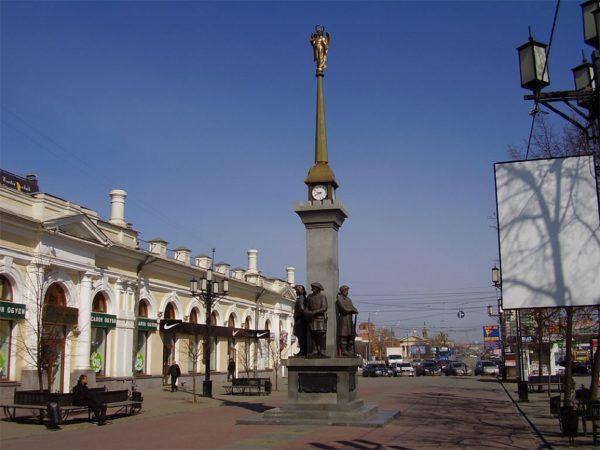 Пешеходная улица Челябинска