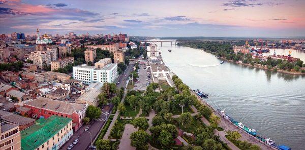 Вид на Ростов.